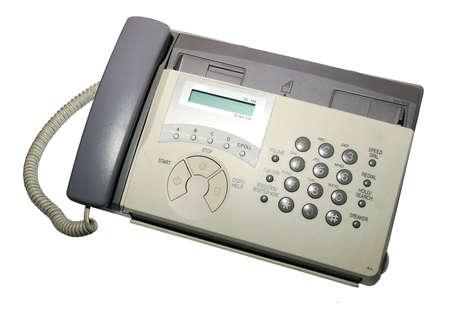 Faxgerät über White