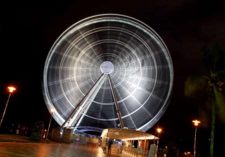 ferris wheel-eyes on malaysia Stock Photo - 2811581