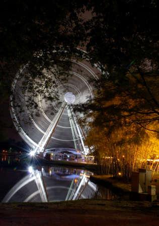 ferris wheel-eyes on malaysia Stock Photo - 2811583