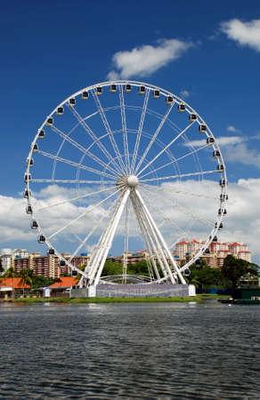 eyes on malaysia-ferris wheel Stock Photo - 2658355