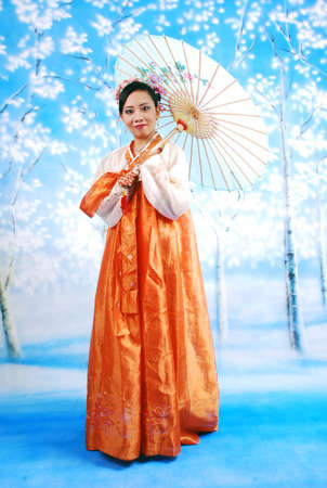 asia woman Stock Photo