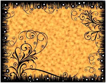 florals border Stock Photo - 3530334