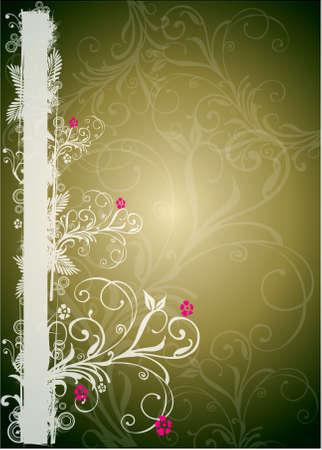 florals border