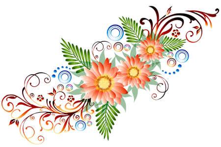bordure floral: floral fronti�re