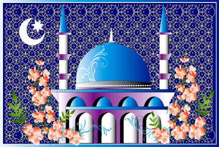 mosque vector Stock Photo
