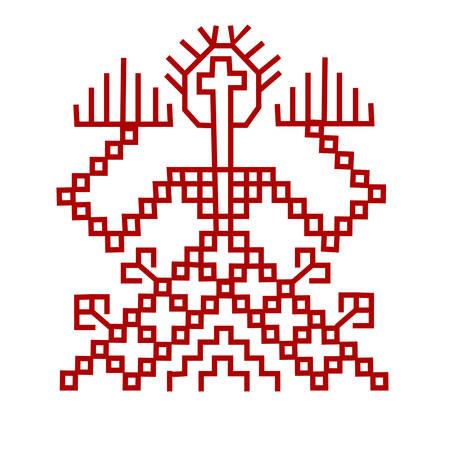 Element of finnish ornament