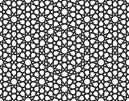 This moroccan pattern is used in architectural design, for the funds, textile, texture for 3D objects and more ...
