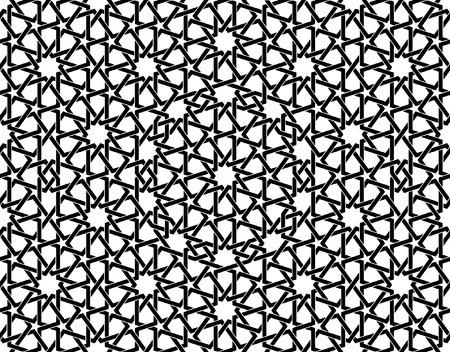 Deze Marokkaanse patroon wordt gebruikt in de architectonische vormgeving, voor de fondsen, textiel, textuur voor 3D-objecten en meer ...