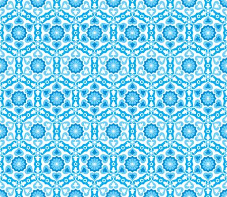 Ce motif marocain est utilisé dans la conception architecturale.
