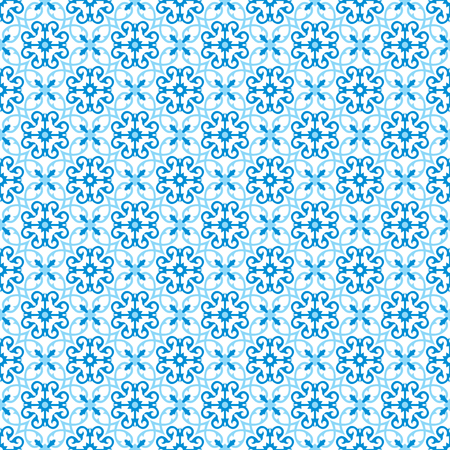 This moroccan pattern is used in architectural design. Ilustracja