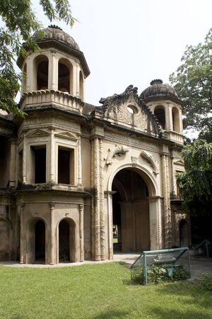 Entrance gate to Secundera Bagh where 2000 mutineer were killed at Lucknow,Uttar Pradesh,India