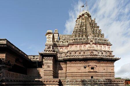 Grihneshwar Temple,Ellora,Aurangabad,Maharashtra,India Stock Photo