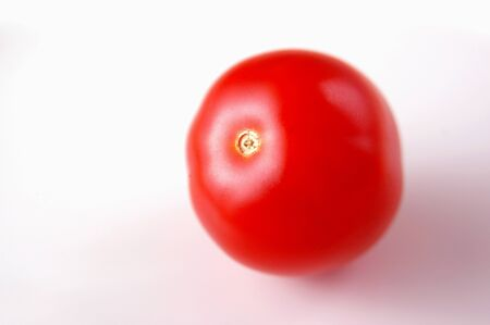 Vegetable,Fruit,Red baby tomatoes on white background