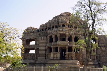 Postcard,Sas Bahu Temple,Gwalior,Madhya Pradesh,India