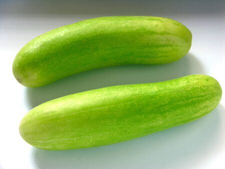 Two Cucumber green vegetable,India
