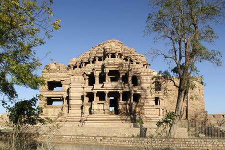 Architecture heritage,Gwalior sas bahu temple,Madhya Pradesh,India Stock Photo