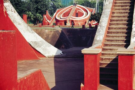Jantar Mantar astronomical observatories at New Delhi,India