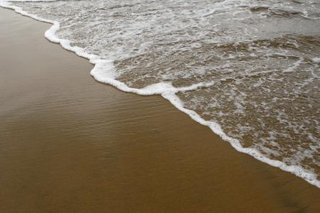 konkan: Surf waves on beach,Village Bhogwe,Konkan,District Sindhudurga,Maharashtra,India