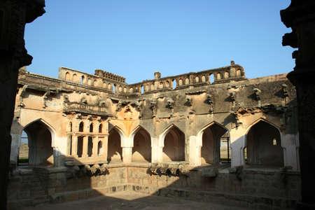 bath: Queens bath,Hampi Vijayanagar ruins,Karnataka,India