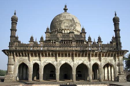 Sepulcher of Ibrahim Adil Shah,Ibrahim Roza,Bijapur,Karnataka,India