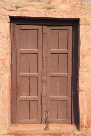 Door in Fatehpur Sikri,Agra,Uttar Pradesh,India UNESCO World Heritage Site