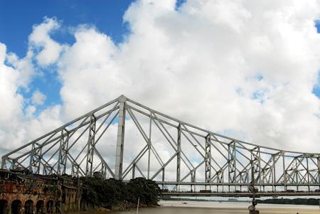 Howrah Bridge at Calcutta,West Bengal,India