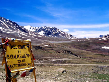 Mountains,Leh,Ladakh,Jammu and Kashmir,India,Asia Stock Photo