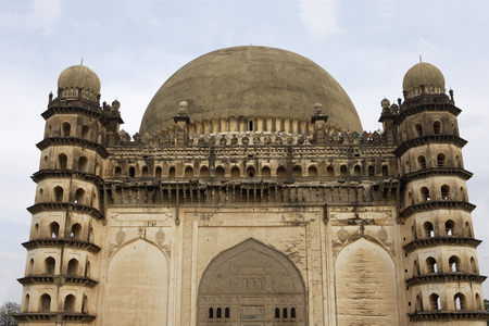 Gol Gumbaz,dome second largest one in world which unsupported by any pillars,Bijapur,Karnataka,India Stok Fotoğraf - 85740517
