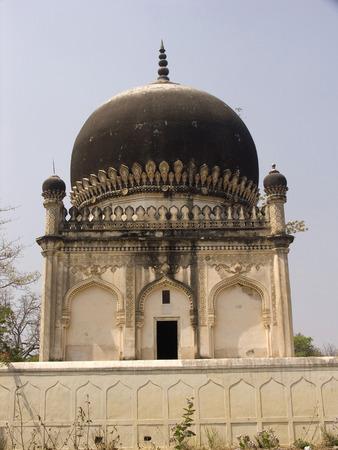 Shahi Tombs inside Golconda Fort,Hyderabad,Andhra Pradesh,India LANG_EVOIMAGES