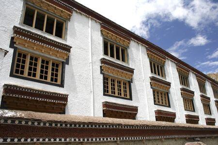 Outside of Hemis monastery one of largest and most important of all monastic establishments of Ladakh,Leh,Ladakh,Jammu and Kashmir,India