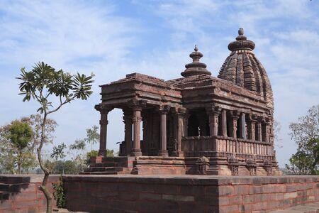 Temple constructed by Maharani Nohala wife of king Yuvraj dev of Kalchuri on Damoh Jabalpur road,village Nohata,Byarama District,Madhya Pradesh,India