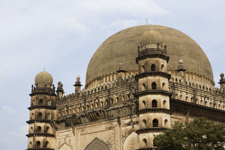 Gol Gumbaz,dome second largest one in world which unsupported by any pillars,Bijapur,Karnataka,India