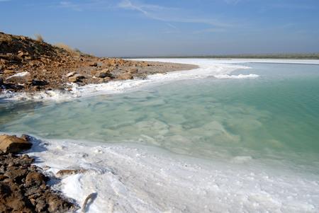 Salt residue,Great Rann of Kutch,Kutch,Gujarat,India