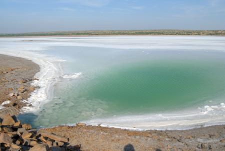 Sea of salt Residue,Great Rann of Kutch,Kutch,Gujarat,India