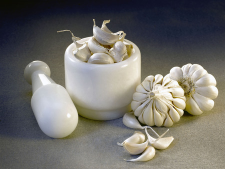 Spices,Bulb Crop or garlic used for adding flavour in cooking