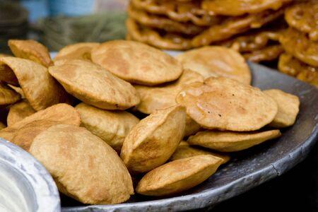 Puri pious dish in Hindu custom
