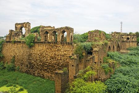 Asar Mahal built by Mohammed Adil Shah in 1646 AD,Bijapur,Karnataka,India Heritage Stok Fotoğraf - 85786044