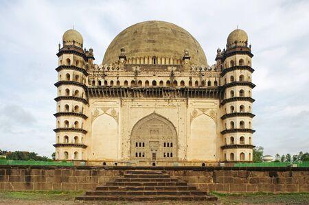 Islamic architecture Gol Gumbaz built in 1659 by Mohammed Adil Shah,Bijapur,Karnataka,India