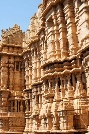 A jain temple inside Jaisalmer fort,Rajasthan,India