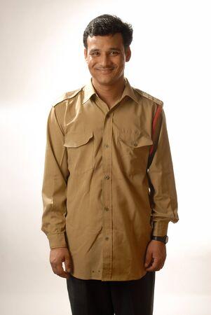 Watchman in uniform