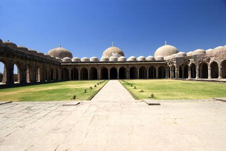Jami Masjid or Jama Masjid at Mandu,Madhya Pradesh,India Stock Photo