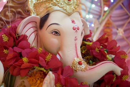 Lord Ganesh ganpati elephant idol statue for Ganesh Chaturthi festival