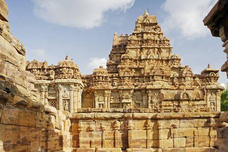 Pattadkal,Karnataka,India World Heritage Stock Photo