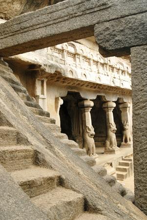 pallava: Ramanuja mandapam dedicated to Lord Shiva,Tamil Nadu,India