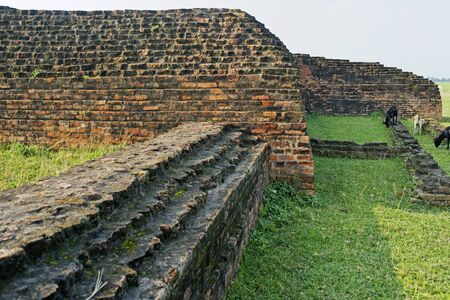 Buddhist Site,Kapilavastu Piprahawa,Uttar Pradesh,India Stock Photo