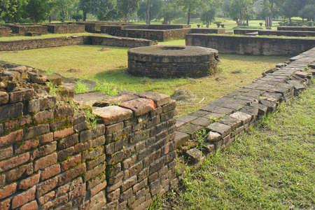 Buddhist Site,Sarawasti,Uttar Pradesh,India Stock Photo