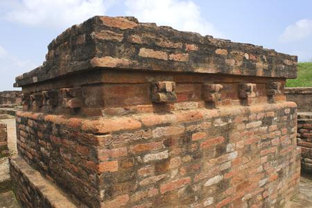 Buddhist site,Kaushambi 60km from Allahabad,Uttar Pradesh,India Stock Photo