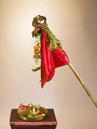 Gudi Padva celebrated as new year day Stock Photo