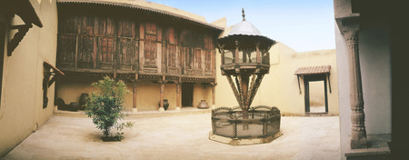 View Of Haveli,India LANG_EVOIMAGES