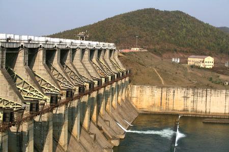 Chandil Dam Hydro electric power project 2x4 MW capacity at Chandil,Saraikela Kharsanwa district of Jharkhand,India